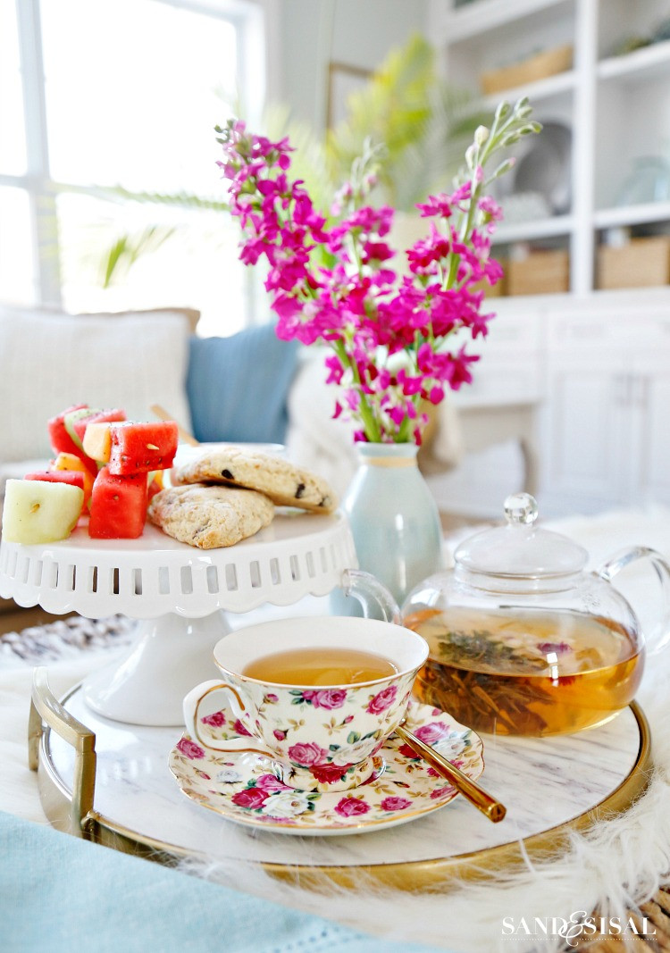 Tea Party Ideas  Tea Party Ideas and Recipes National Hot Tea Month