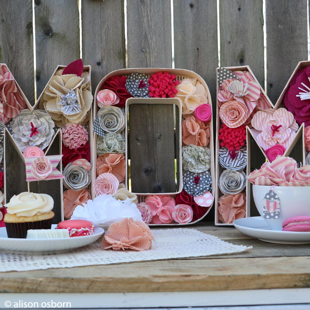 Tea Party Ideas  DIY Mother s Day Tea Party Decor The Creative Studio