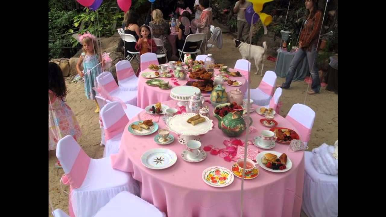 Tea Party Ideas  Easy DIY Tea party ideas for kids