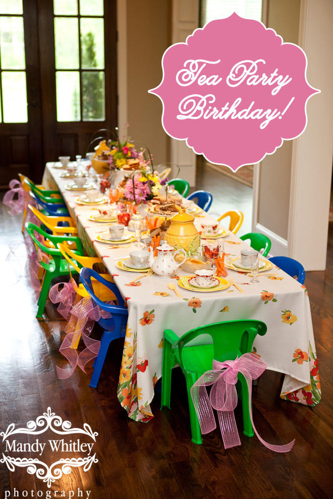 Tea Party Ideas For Girls  30 Girls Birthday Party Ideas