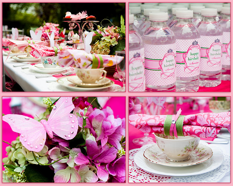 Tea Party Ideas For Girls  Kara s Party Ideas Girls 5th Birthday Princess Tea Party