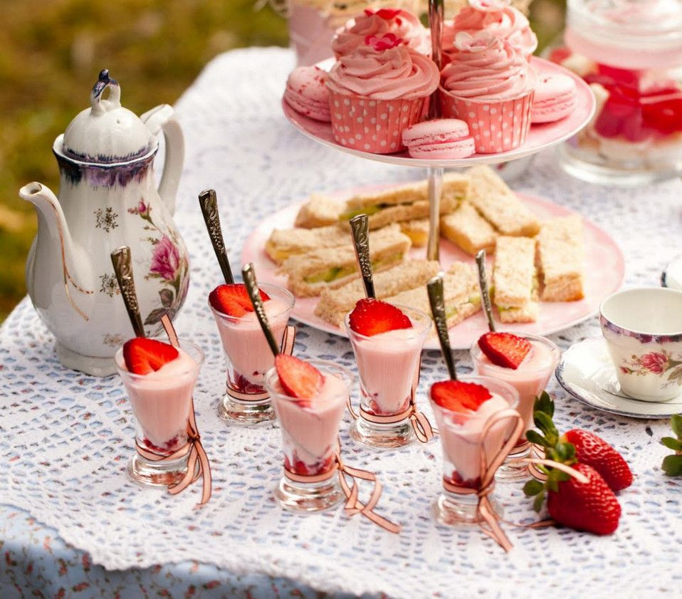 Tea Party Ideas For Girls  little girl tea party menu ideas