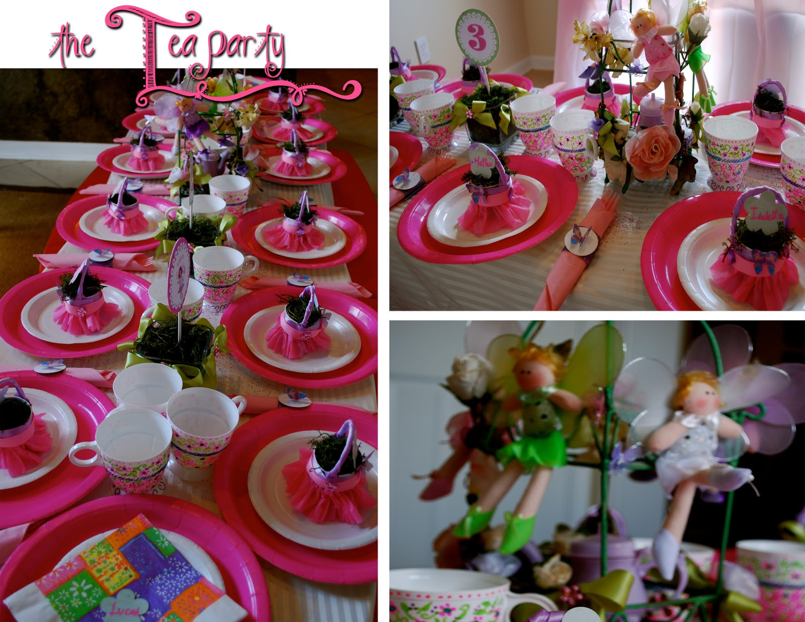 Tea Party Ideas For Girls  Fairy Princess Tea Party
