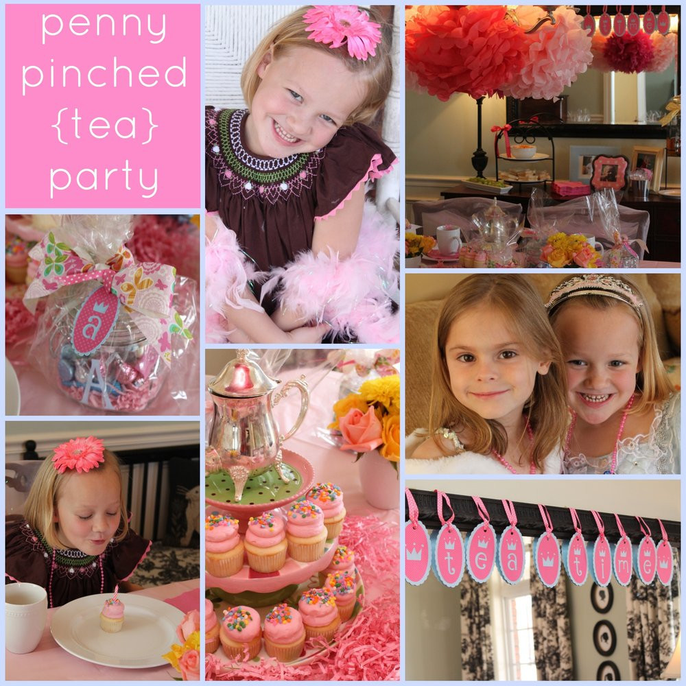 Tea Party Ideas For Girls  Girls Tea Party A Bud Passionate Penny Pincher