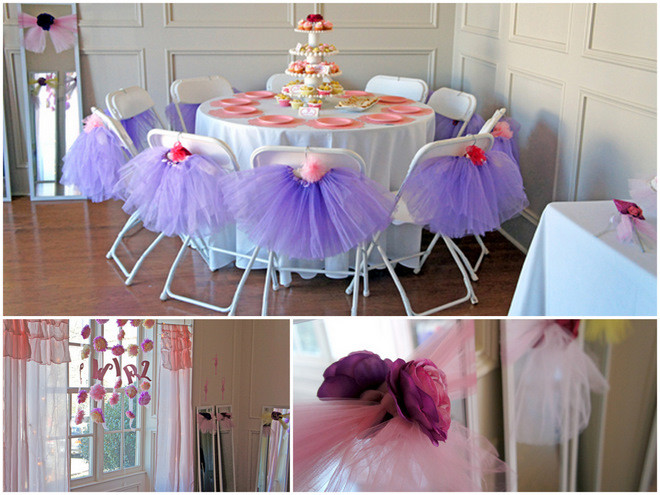Tea Party Ideas For Girls  Pink Purple Ballerina Tea Party