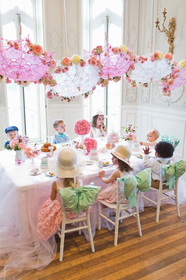 Tea Party Ideas For Girls  Sweet Tea Birthday Party Tea Parties