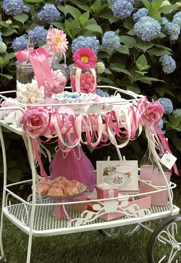 Tea Party Ideas For Girls  Great Ideas For A Little Girls Tea Party