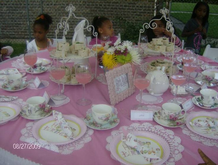 Tea Party Ideas For Girls  Church Tea Party Program