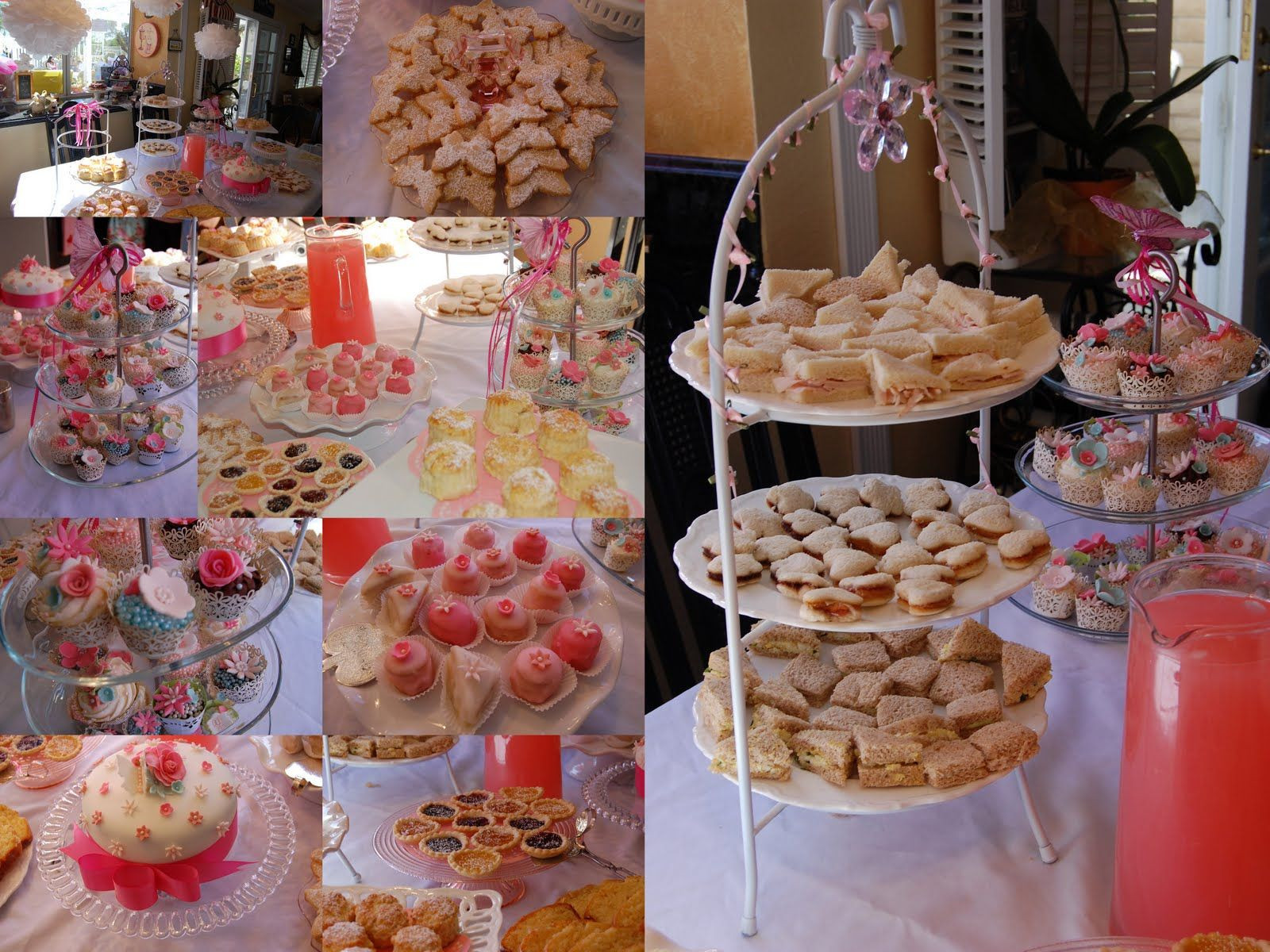 Tea Party Ideas For Girls  pretty tea food girls tea party ideas
