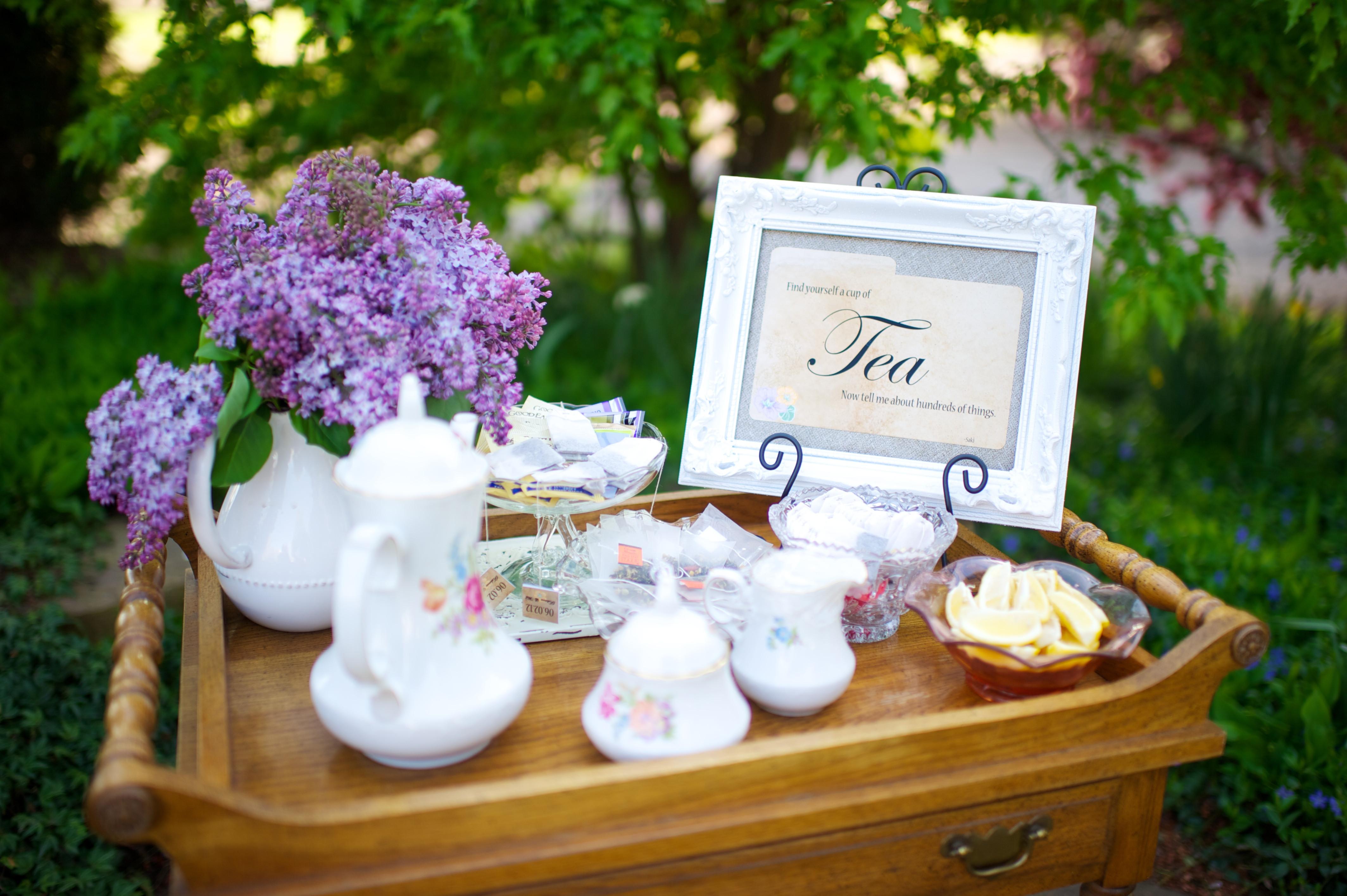 Tea Party Ideas  Armenian Nutmeg Cake for a Fabulous Spring Tea Party