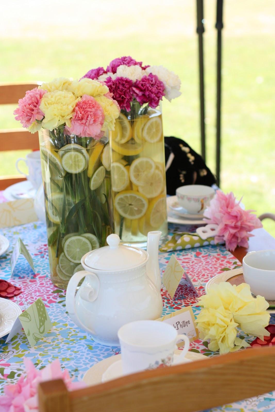 Tea Party Ideas  Kara s Party Ideas Mother Daughter Tea Party 3rd Birthday