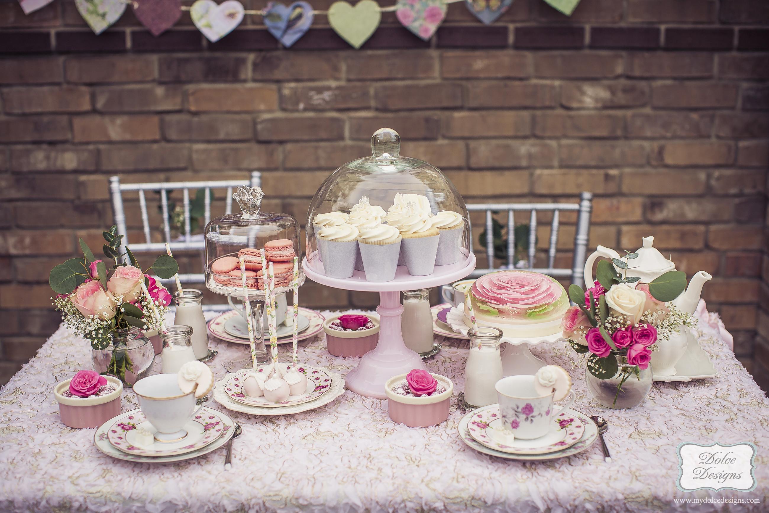 Tea Party Ideas  romantic tea party