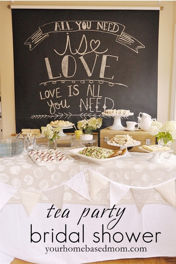 Tea Party Shower Ideas  Tea Party Bridal Shower Theme your homebased mom