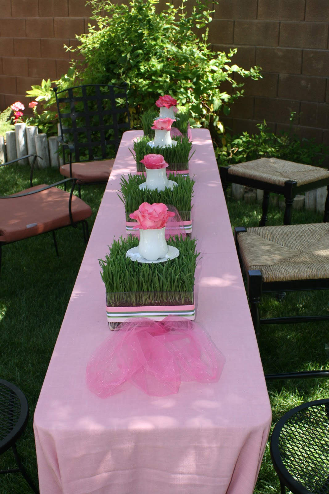 Tea Party Shower Ideas  ReMarkable Home Garden Tea Party Baby Shower