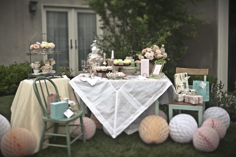 Tea Party Shower Ideas  Pretty Tea Party Bridal Shower Inspiration The Sweetest