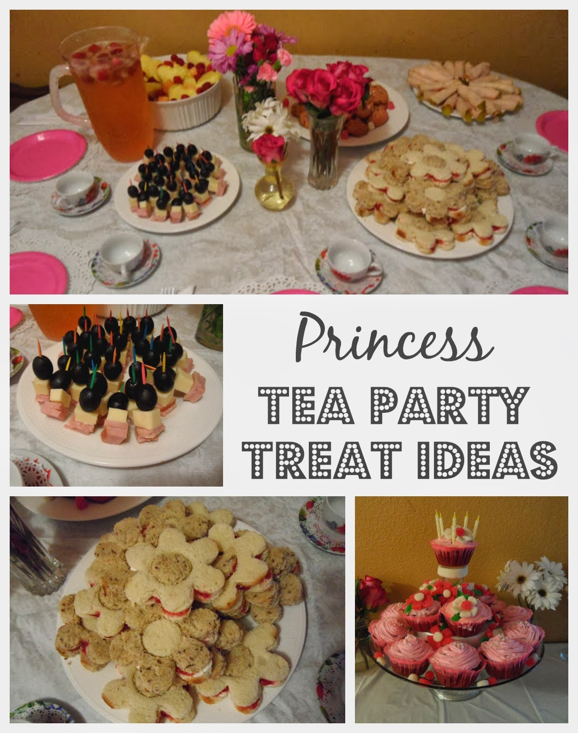 Tea Party Snack Ideas  Princess Tea Party Birthday Ideas Melissa Kaylene