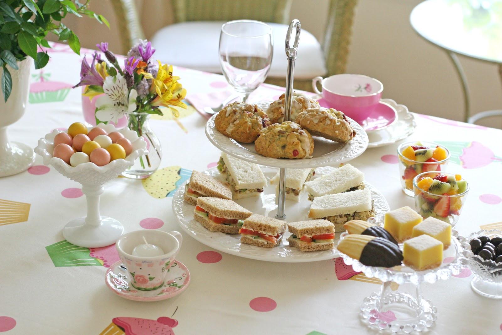 Tea Party Snack Ideas  Tea with Cecilia – Glorious Treats
