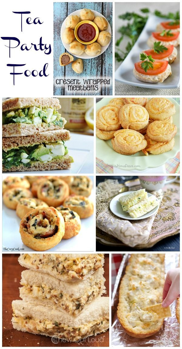 Tea Party Snack Ideas  Tea Party Food For All Ages Tea party stuff