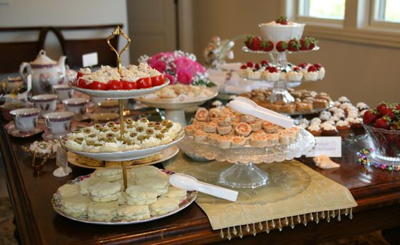 Tea Party Snack Ideas  Your plete Guide to Planning an Afternoon Tea Party