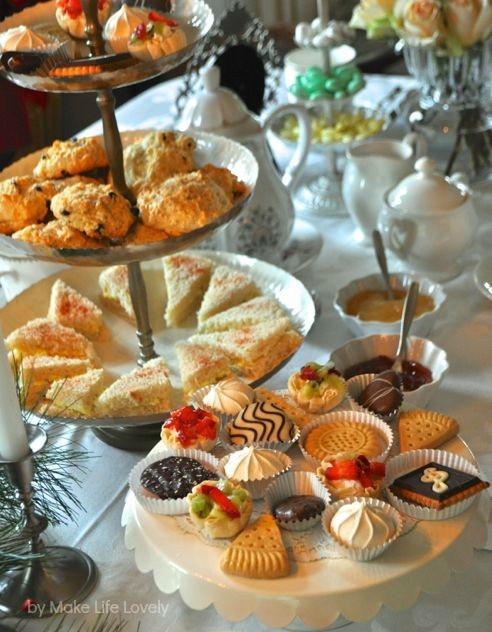 Tea Party Snack Ideas  Downton Abbey Tea Party Free Printable Downton Abbey