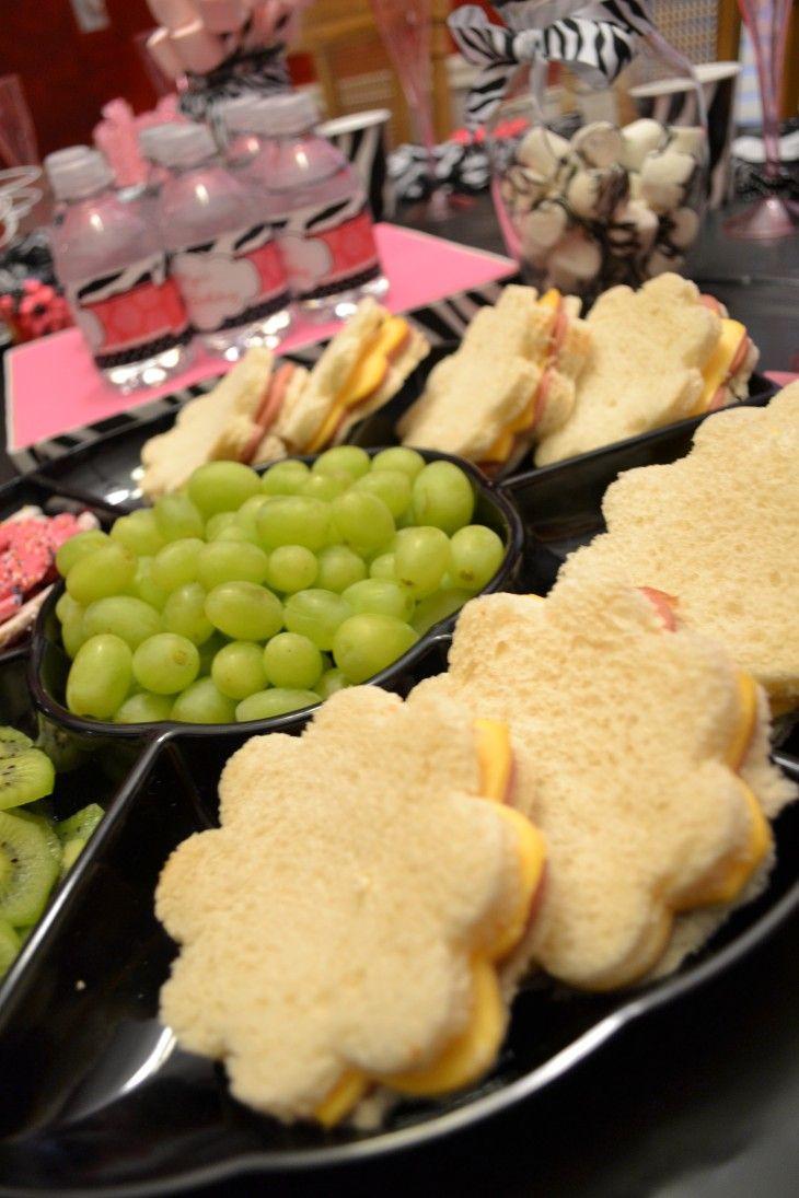 Tea Party Snack Ideas  Best 25 Spa party foods ideas on Pinterest