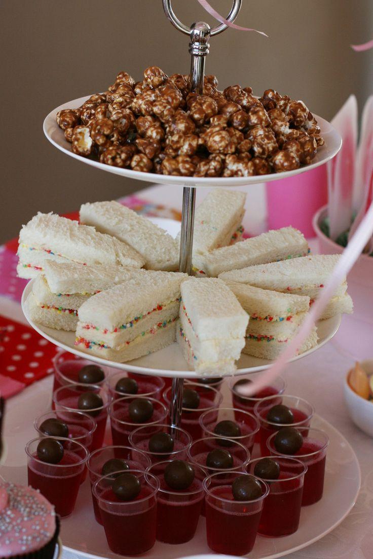 Tea Party Snack Ideas  Best 25 Fairy tea party food ideas on Pinterest