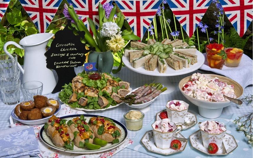 Tea Party Snack Ideas  Queen s Diamond Jubilee classic party snacks Telegraph