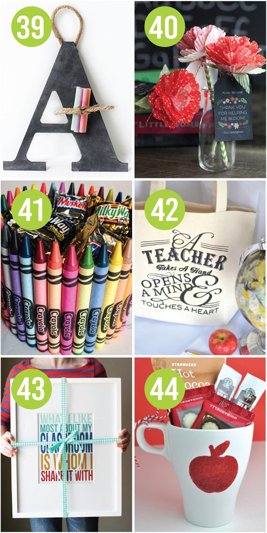 Teacher Appreciation Gifts DIY  Quick and Easy Teacher Appreciation Gifts And Ideas The