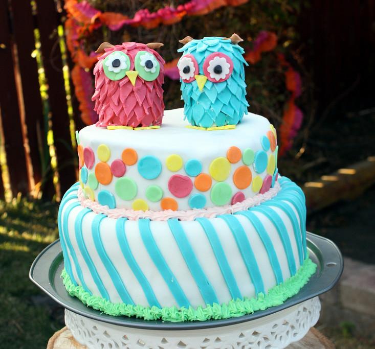 Teenage Birthday Cakes Ideas  Amazing Owl Birthday Party — Bless this Mess