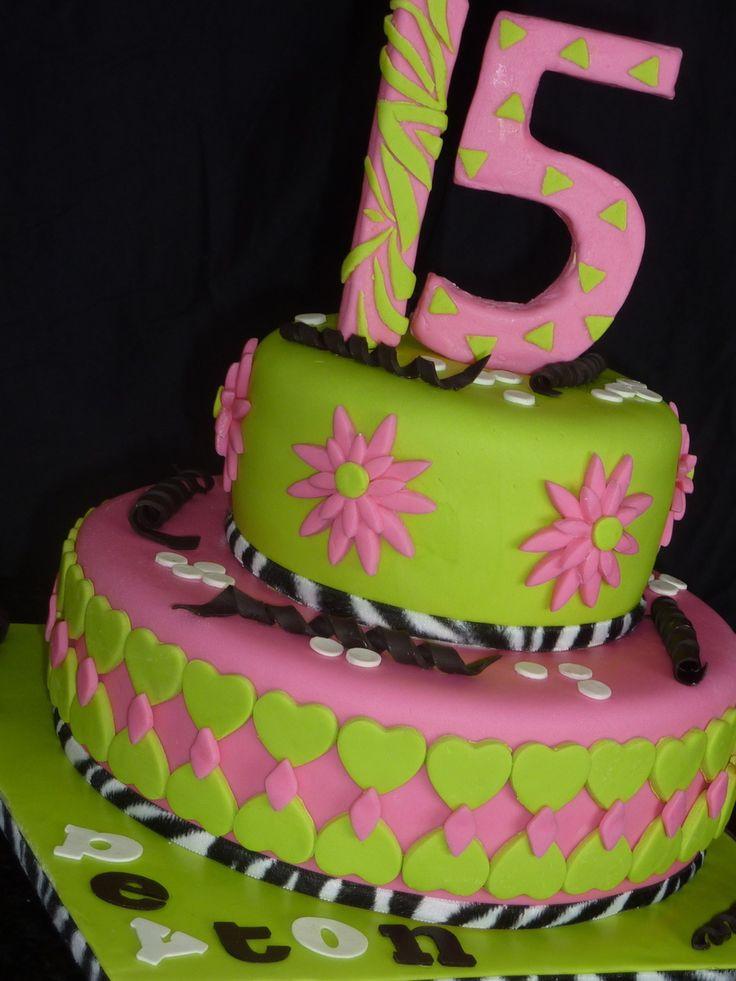 Teenage Birthday Cakes Ideas  Best 25 Teen cakes ideas on Pinterest