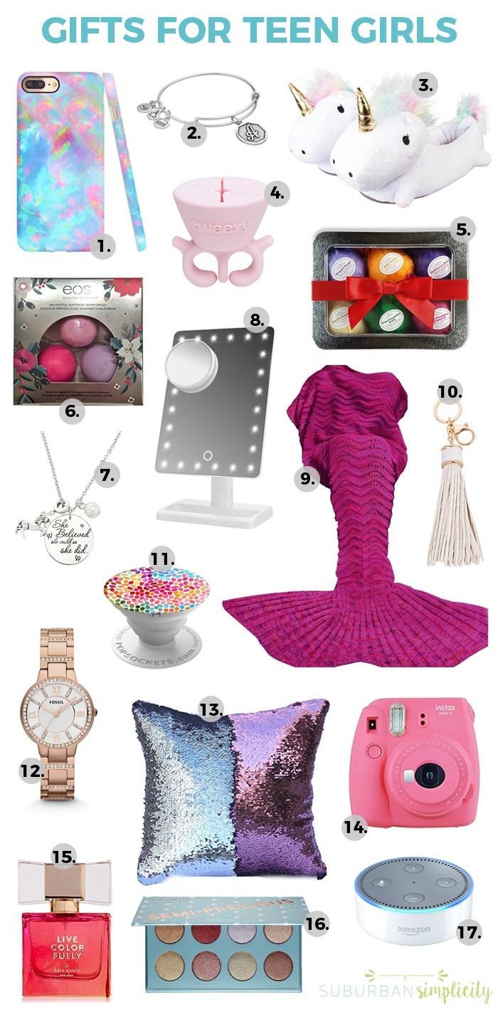 Teenage Girlfriend Gift Ideas  17 Best Gift Ideas for Teen Girls