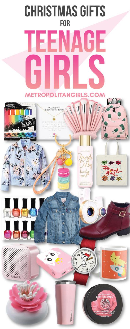 Teenage Girlfriend Gift Ideas  Christmas Gift Ideas for Teen Girls 2017 Metropolitan Girls