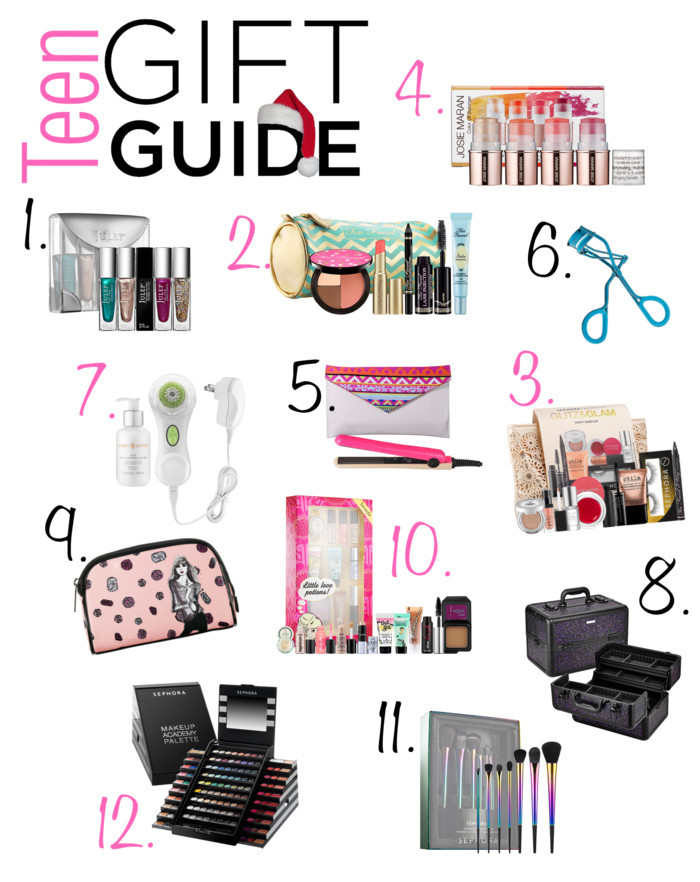 Teenage Girlfriend Gift Ideas  12 Teenage Girl Gifts for Christmas Beauty & Makeup Edition