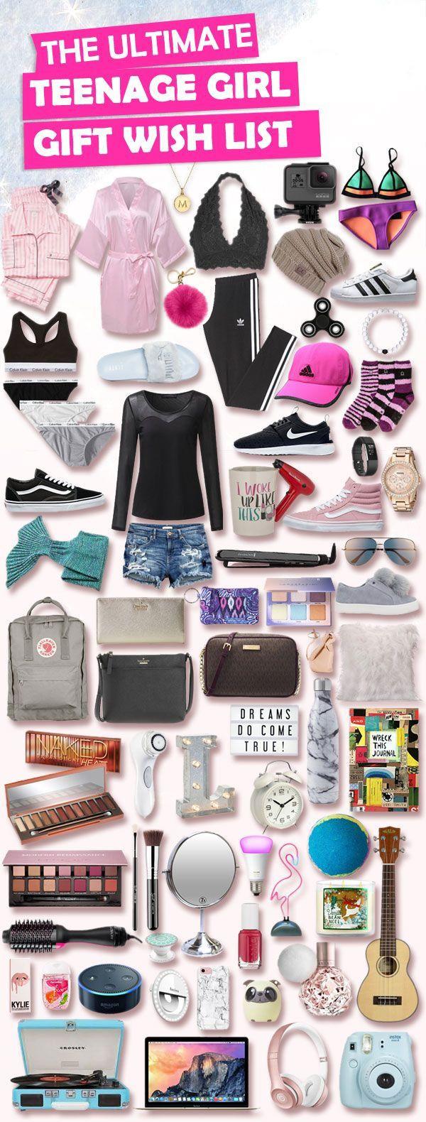 Teenage Girlfriend Gift Ideas  Christmas Gifts for Teenage Girls List