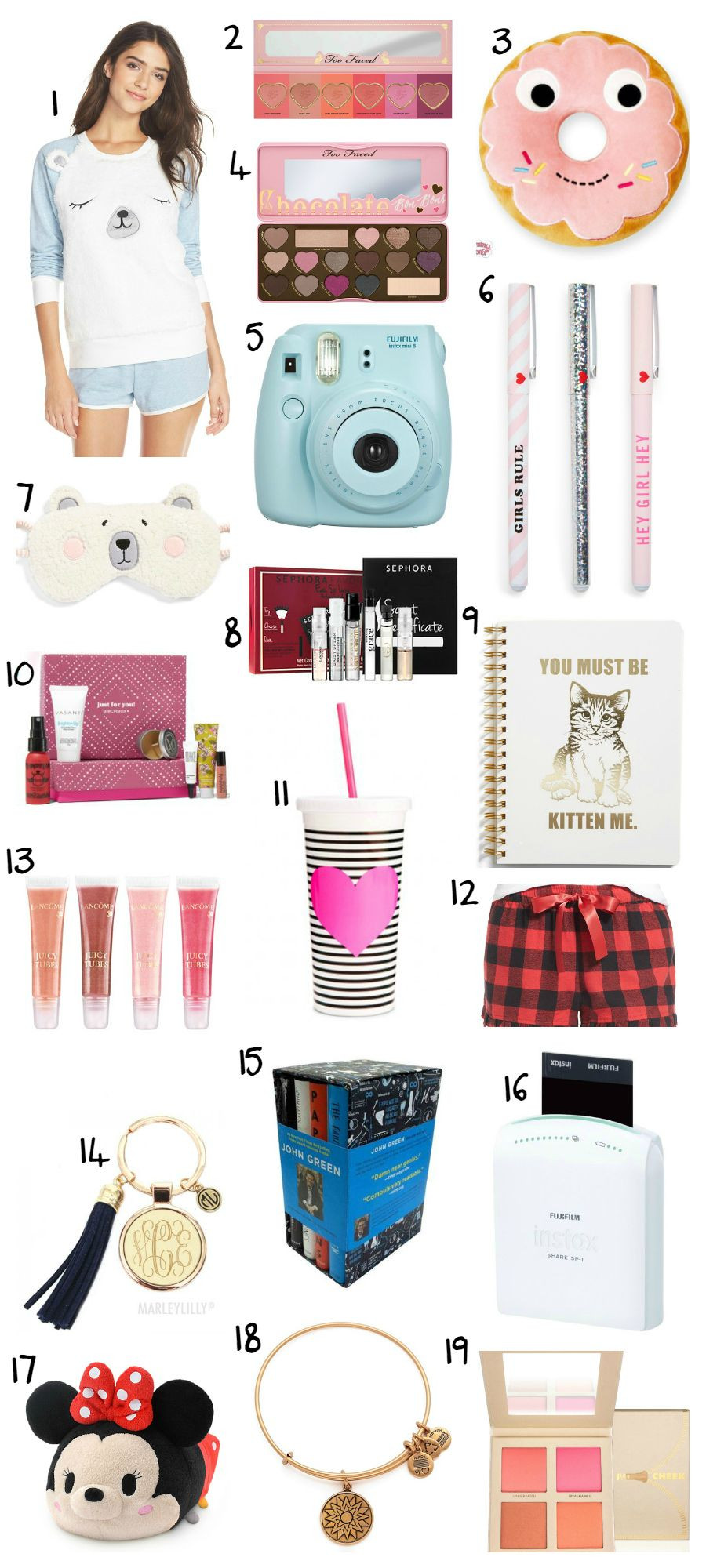 Teenage Girlfriend Gift Ideas  The Best Christmas Gift Ideas for Teens