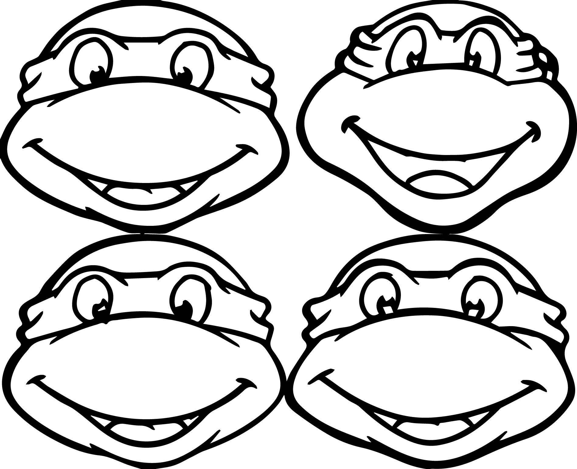 Teenage Mutant Ninja Turtle Coloring Pages  Teenage Mutant Ninja Turtles Coloring Pages Best
