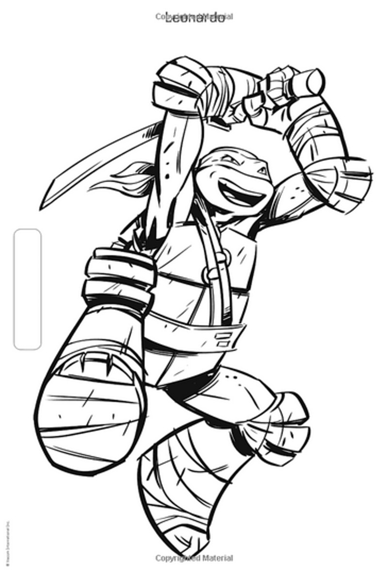 Teenage Mutant Ninja Turtle Coloring Pages  90 s Coloring Pages