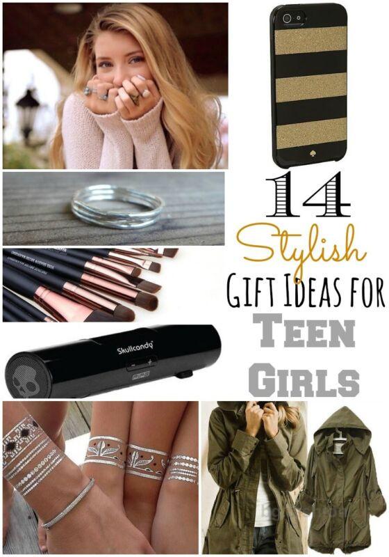 Teenager Gift Ideas For Girls  14 Stylish Gift Ideas for Teen Girls