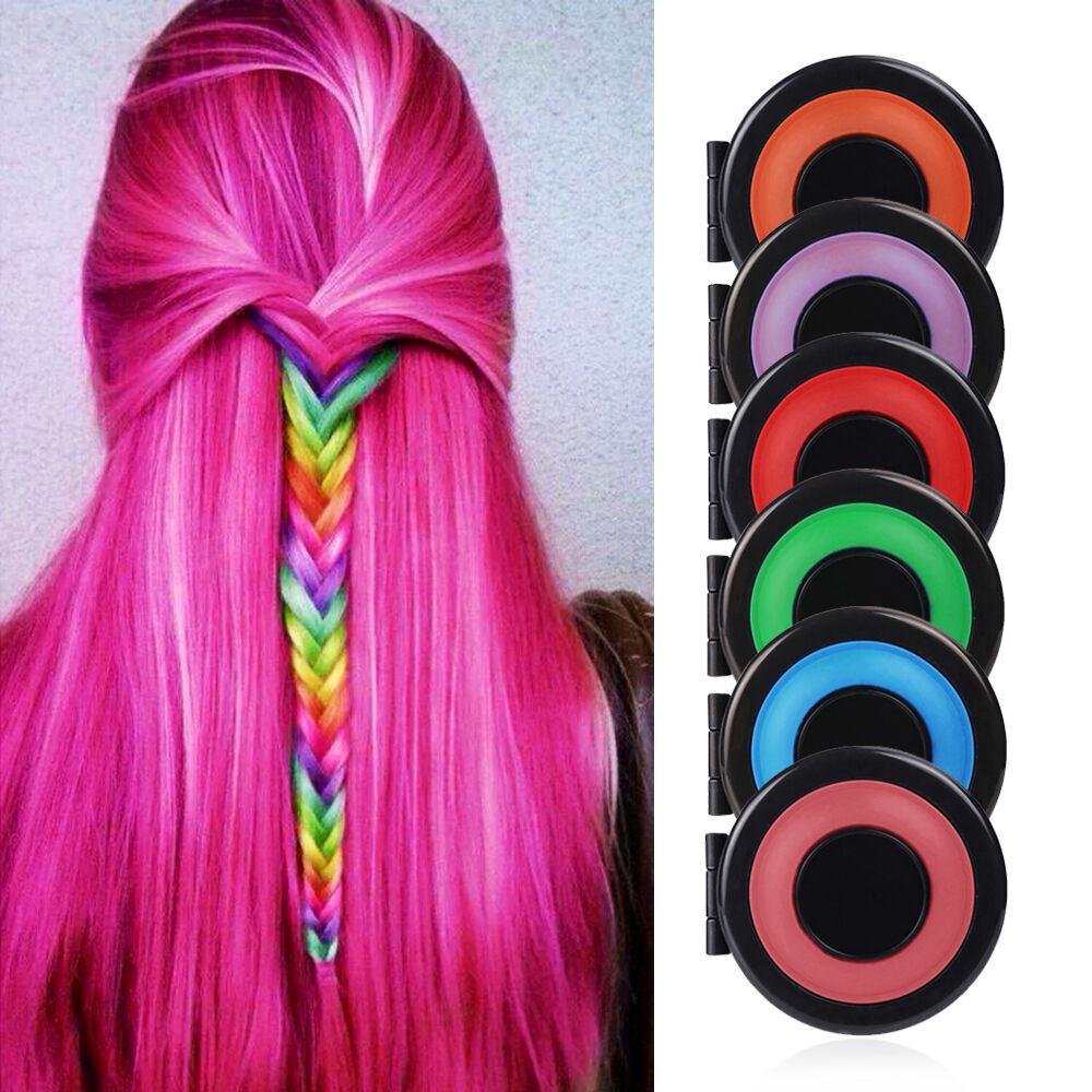 Temporary Hair Color DIY  6 PCS DIY Temporary Hair Chalk Special Color Dye Pastels
