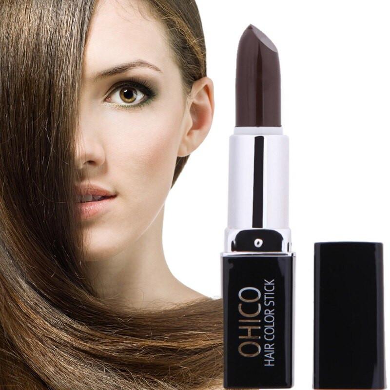 Temporary Hair Color DIY  4 Color Temporary Hair Dye Hair Lipstick Chalk Crayons