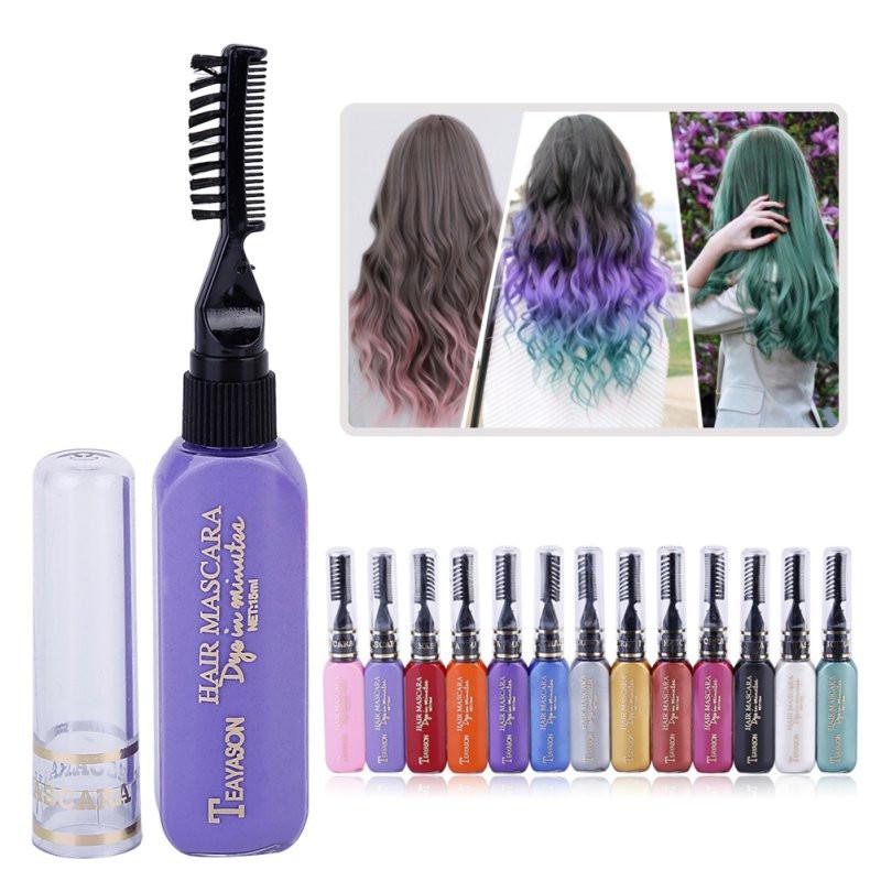 Temporary Hair Color DIY  e time Hair Color Hair Dye Temporary Non toxic DIY Hair