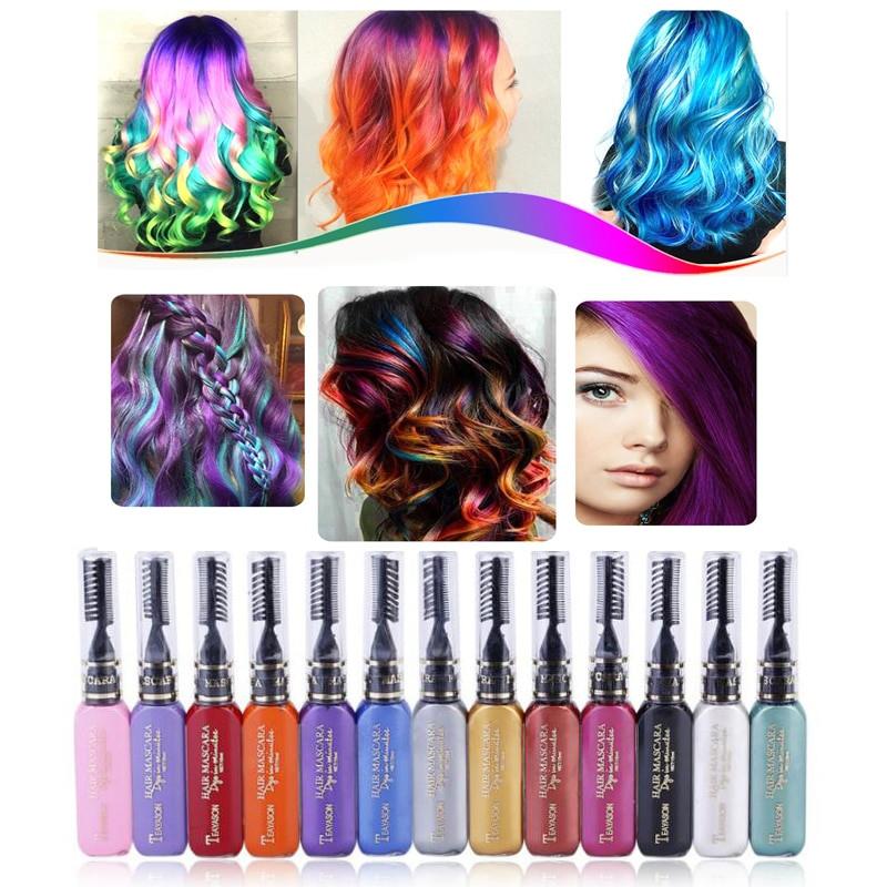 Temporary Hair Color DIY  Hot Selling e time Beauty Hair Dye Temporary Non toxic