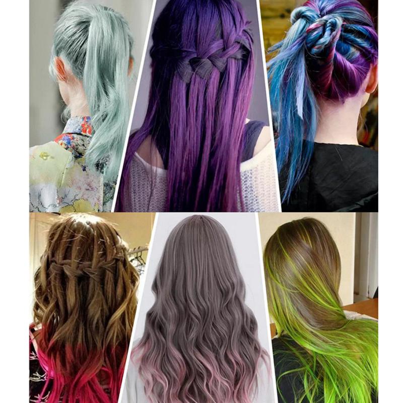 Temporary Hair Color DIY  Temporary Color Hair Dye Mascara Hair Chalk Non toxic Hair