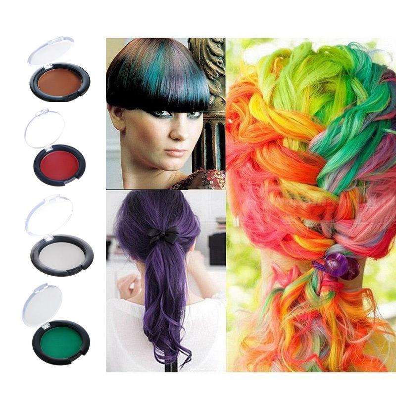 Temporary Hair Color DIY  Uni Christmas Salon DIY Temporary Hair Dye Hair Chalk