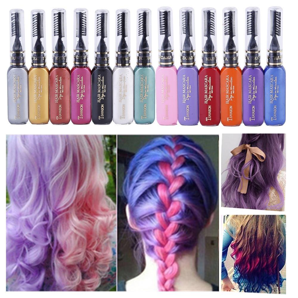 Temporary Hair Color DIY  2018 Professional DIY Temporary Instant Hair Color Dye