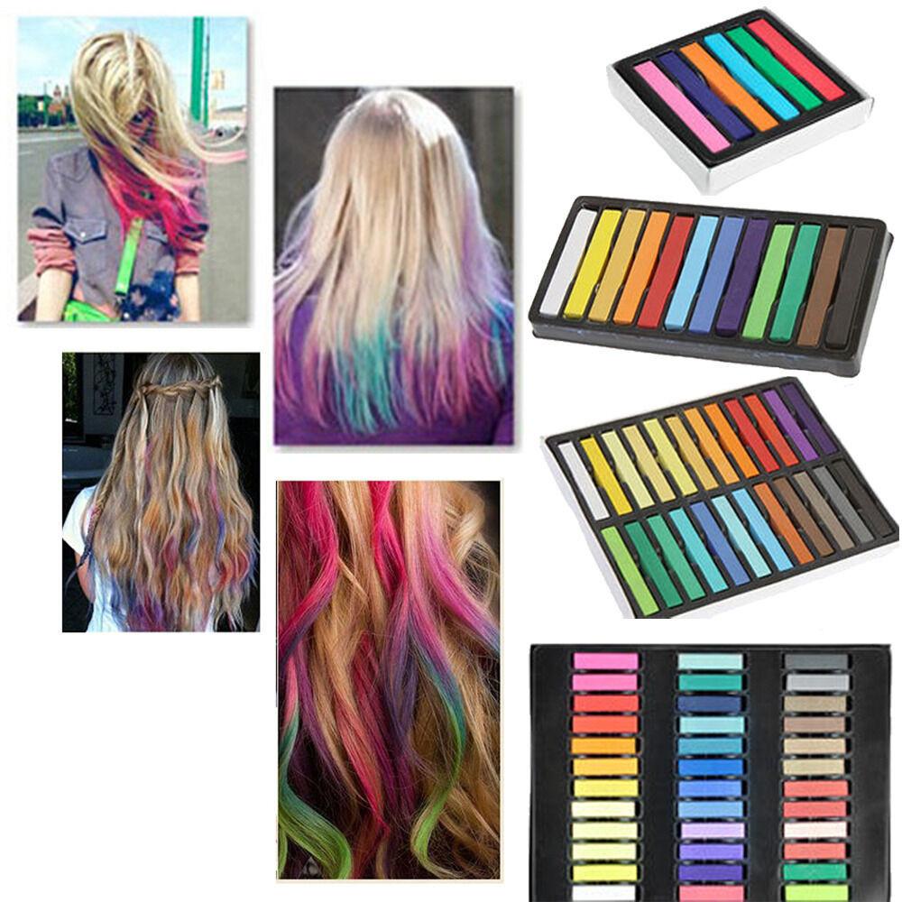 Temporary Hair Color DIY  DIY Easy Temporary Fast Colors Hair Chalk Dye Soft Hair