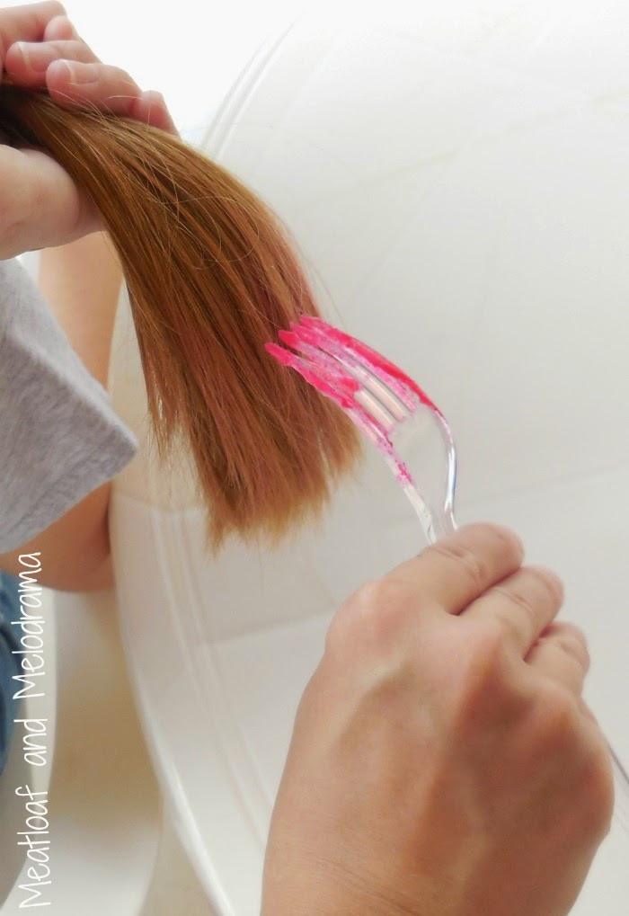 Temporary Hair Color DIY  DIY Temporary Hair Dye Meatloaf and Melodrama