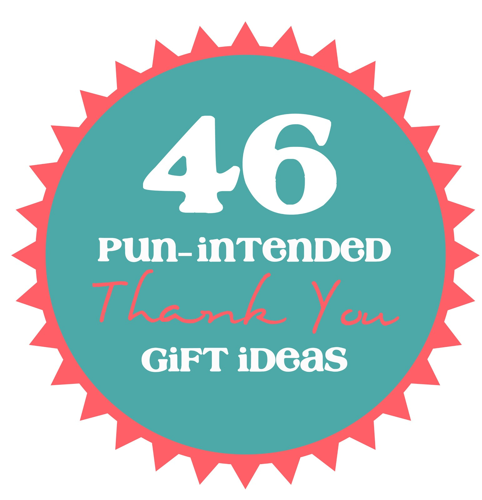 Thank You Gift Ideas  46 Pun Intended Thank You Gift Ideas thecraftpatchblog