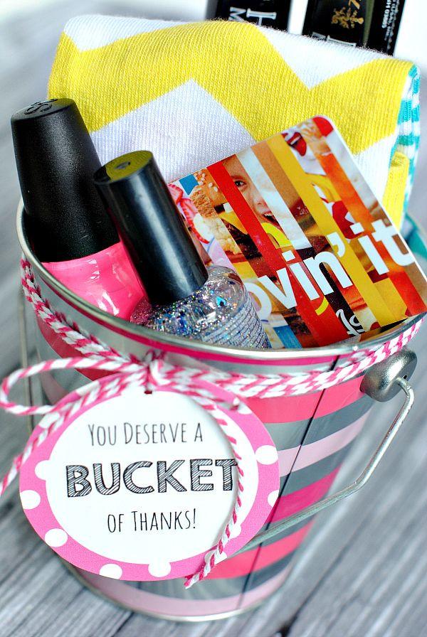 Thank You Gift Ideas  Best 25 Thank you t baskets ideas on Pinterest