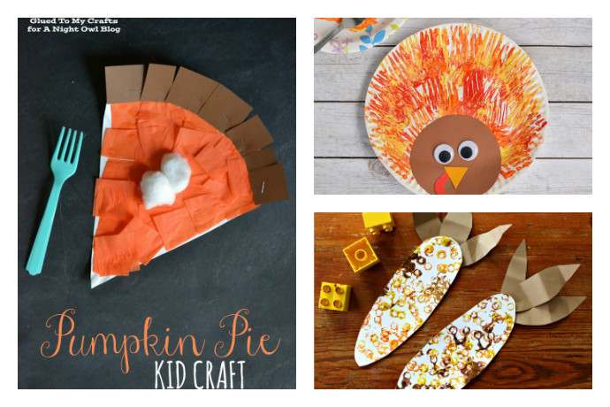 Thanksgiving Art Projects For Preschoolers  8 super fun and easy Thanksgiving crafts for kids